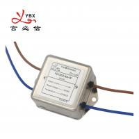 Quality 60dB 250VDC Single Phase Power Emi Filter with compact size for sale