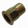 Buy cheap Threaded Inserts Semi-Hexagonal Flat Head Open Type Rivet Nut from wholesalers