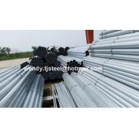 Quality Q195 HOT DIP GALVANIZED STEEL PIPE FOR WATER/OIL/GAS TRANSPORTATION for sale