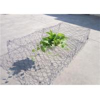 Quality Water Soil Protection Garden Wall Wire Baskets , Metal Cage Filled With Stones for sale