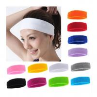 Quality EchoFlove Sports Sweatband Sweat Absorbing Sports Women Yoga Headband Sports Protective Safety Protector Head Band for sale
