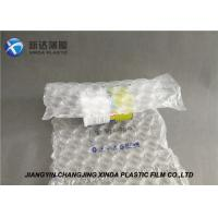 China Bubble Packaging Material Air Filled Film Roll Shockproof Air Filled Packaging Bags on sale