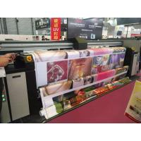 Quality 3.2m Digital Fabric Printer With Auto Constant Tension Feeding And Taking Up System for sale