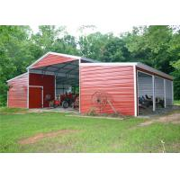 Quality Durable Shade Steel Garage Buildings Pre Manufactured Carports Labor Saving for sale