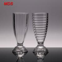 Quality Glassware material wholesale vintage juice beverage glasses for sale