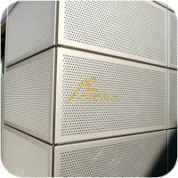 China Metal perforated sheet for facade and architect Project on sale