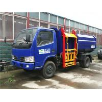 Quality Full Automatic Rubbish Collection Truck / Hydraulic Control Pick Up Garbage Truck for sale