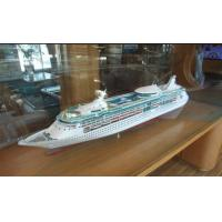 No Smell Rhapsody Of The Seas Royal Caribbean Cruise Ship Models With Aluminum Air Box Packaging