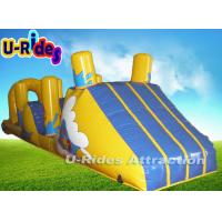 Quality Theme Park Water Rides Tarpaulin Sewing / Airtight Inflatable Water Sport for sale