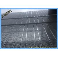 China Anti Skid Perforated Metal Mesh , Wire Mesh Flooring Punching Hole Nature Surface on sale