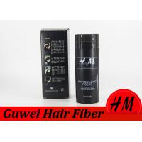 Quality Customized Size Keratin Hair Building Fibers Products To Cover Thinning Hair for sale