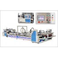 Quality Paper Carton Folder Gluer Machine Auto Feeding Counting Stacking Output for sale