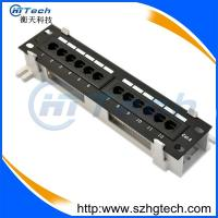 Quality 12 Ports CAT6 Mini Patch Panel for sale