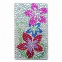 Buy cheap Phone Sicker, Made of Pearl, with Elegant Design from wholesalers