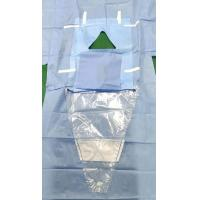 Quality Perineum Disposable Surgical Drapes With Collection Pouch Customized Logo for sale