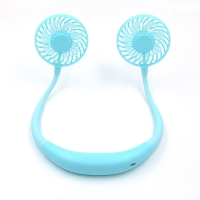 Quality Rechargeable 5200mAh portable Sports Neck Fan Travel Folding for sale