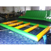 China Commercial Grade 0.9mm PVC Tarpaulin Inflatable Water Sports Game for summer playing on sale
