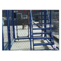 Quality Simple Quick Installation Safety Construction Cage , Step Ladder Cage For Subway Tunnel for sale