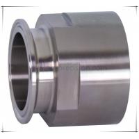 China China Precision CNC Machined Fittings-Sanitary Adapter Long Hose Adapter on sale