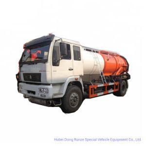 Sinotruk HOWO Combined Sewer Jetting Vacuum Tanker Truck (12000L Tank Cleaner Clean water 4m3, Wast Sewage Tank 6m3 RHD -LHD 4X2)