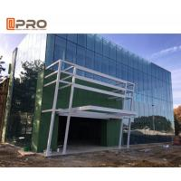 Quality Building exterior reflective/Low-E glass facade aluminum curtain wall system for sale