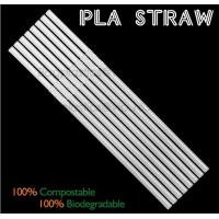 Quality Eco-friendly straw for drinking use, 100% compostable straw, PLA folding drinking straw for sale