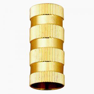 China Optional Tolerance CNC Milling Service Brass Copper Knurled Insert Nut on sale