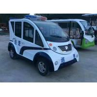 Quality 4 Seats Electric Platform Truck Cruising Vehicle With Zero Emission Environmental Friendly for sale