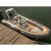 China Luxury Rigid Inflatable Boat 5.2 Meter Length 1.95 Meter Width YAMAHA 90HP Engine on sale