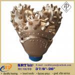 "15 1/2"" IADC417 high quality oilfield exploration drilling button tri-cone rock"