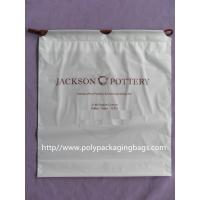 Quality Dry Cleaning Shop Disposable Plastic Laundry Bag Poly Drawstring Bags / Lundry Bag / Laundri Bag for sale