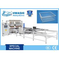 China Multi Guns Wire Welding Machinery for Shopping Baskets / Refrigerator shelves for sale