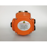 Quality NEMA 7 220VAC 250Nm Explosion Proof Electric Actuator for sale