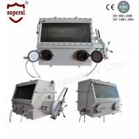 Quality Stainless Steel Laboratory Glove Box / Anaerobic Glove Box Medical Equipment for sale