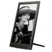 China Portrait type 10 Inch HD IPS Screen digital photo frame with touch keys  for counters on sale