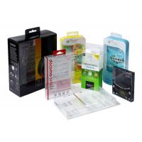 China Square Small Clear Plastic Gift Boxes With Lids PVC PP PET Material Customize Printing on sale