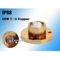 Quality CREE Copper 15W RGB LED Boat Light For Yacht 3 Years Warranty for sale