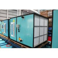 Quality Double Skin 1/2 Rows Heating Coil 7-1300kw Custom Air Handling Units Ith 30/50 Mm Insulation for sale