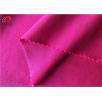 Buy cheap 40D * 40D Solid Color 87% Polyester 13%Spandex Fabric , Elastic Knitted Fabric from wholesalers
