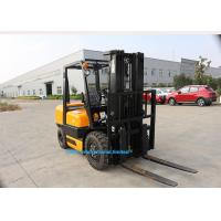 Quality HAFE Diesel Forklift Truck FD Series 3.5T CPCD35 Diesel Engine With 2m Long Fork Extension for sale