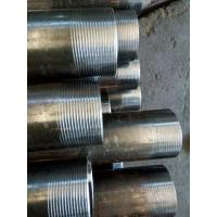 Quality BS1387 hot galvanized black pipes for water wells for sale