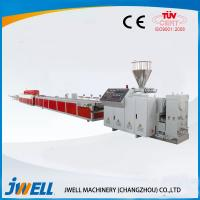 Quality Two Step Way  Jwell WPC Extrusion Line DC Motor Drived Over Load Protection for sale