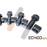 Quality Shantui Bulldozer Track Nuts And Bolts , D155 Stainless Steel Nuts And Bolts for sale