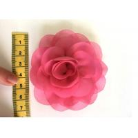 Rose Design Handmade Fabric Corsage Flower For UK High Street Shop Brand Cheaper Price