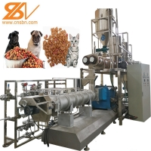 Quality Dried Cat Food Making Machine pet processing line dog cat pet food machine plant for sale