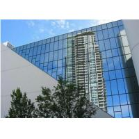 Quality Office Building Reflective Float Glass 2mm - 19mm Thickness Reflective Blue Glass for sale