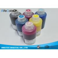 China DX-7 Printer Head Dye Sublimation Heat Transfer Ink For T Shirt Printing 1.1kgs Per Bottle on sale