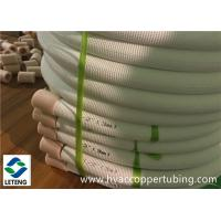 Quality Plastic Coated Refrigerator Copper Tubing, 275Mpa Ultimate Strength Refrigerant Copper Pipe for sale