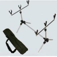 """Quality Aluminum Carp Fishing Rod Pod With 3 """"V"""" style rodrest front with thread for sale"""