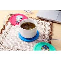 Quality Newfangled USB Heated Silica Gel Tea Saucers Home An Ultra Assistant Heat Insulation Cup M for sale